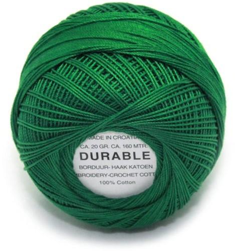Durable Stick- und Häkelbaumwollgarn 1007 Dark Green
