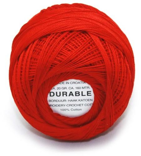 Durable Stick- und Häkelbaumwollgarn 1011 Light Red