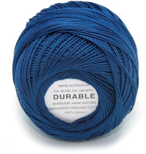 Durable Stick- und Häkelbaumwollgarn 1013 Dark Blue