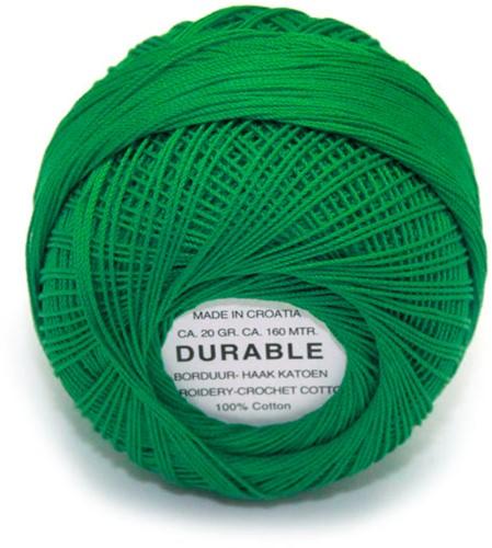Durable Stick- und Häkelbaumwollgarn 1015 Green