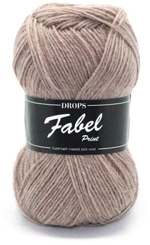Drops Fabel Uni Colour 101 Beige