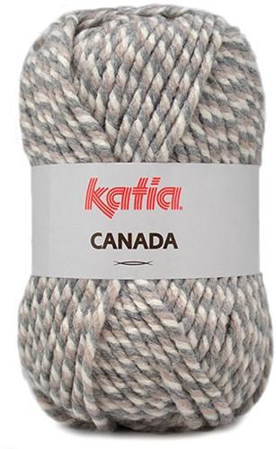 Katia Canada 102 Grey - Beige - Off white