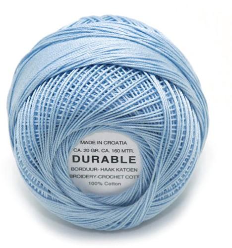 Durable Stick- und Häkelbaumwollgarn 1030 Light Steel Blue