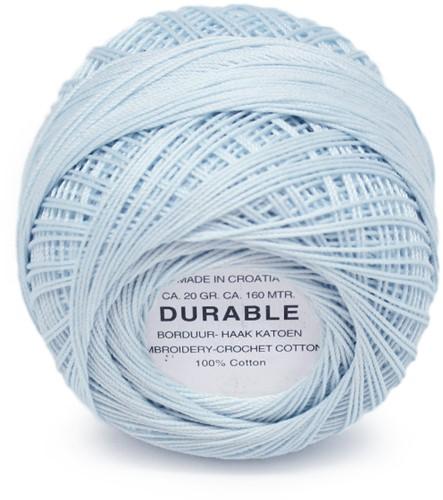 Durable Stick- und Häkelbaumwollgarn 1036 Light Blue