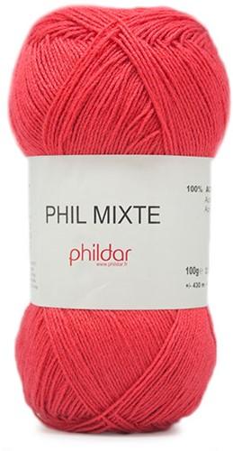Phildar Phil Mixte 1038 Conquelicot