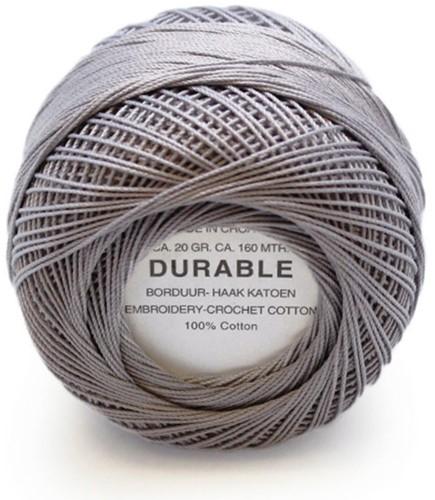 Durable Stick- und Häkelbaumwollgarn 1041 Mouse Grey