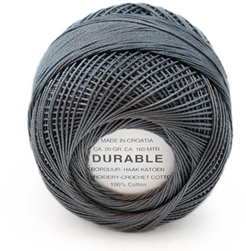 Durable Stick- und Häkelbaumwollgarn 1042 Dark Grey