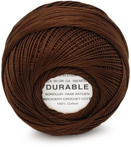 Durable Stick- und Häkelbaumwollgarn 1047 Chestnut