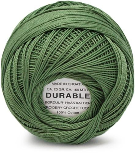 Durable Stick- und Häkelbaumwollgarn 1048 Moss Green