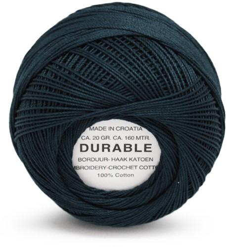 Durable Stick- und Häkelbaumwollgarn 1049 Deep Dark Blue