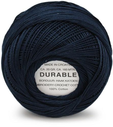 Durable Stick- und Häkelbaumwollgarn 1052 Night Blue