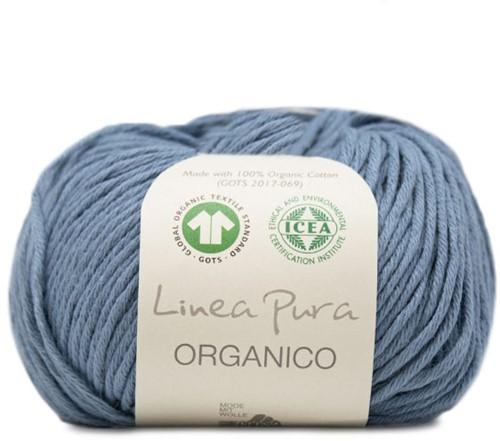 Organico Sommerjacke Strickpaket 1 36/40 Pigeon Blue