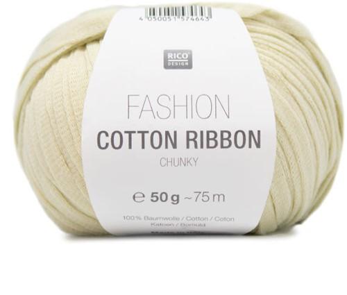 Fashion Cotton Ribbon Chunky Sweater Strickpaket 1 42/44 Pastel Yellow