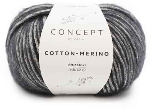 Katia Cotton-Merino 107 Dark grey