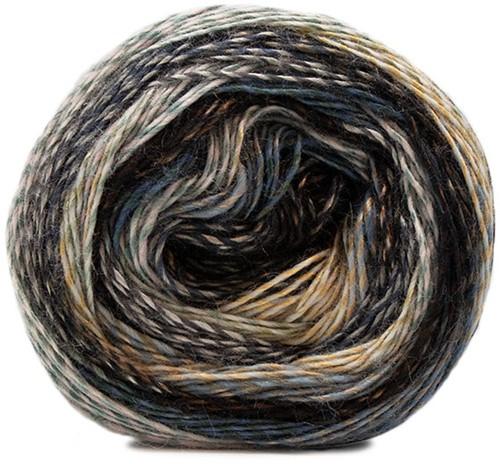 Lana Grossa Gioia 108 Dark Grey / Light Grey / Silver / Copper / Black-Brown / Blue-Grey