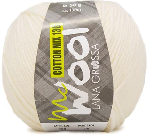 Lana Grossa Cotton Mix 130 109 Raw White