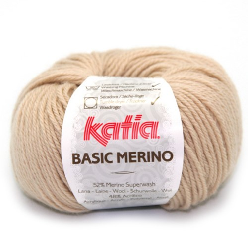 Katia Basic Merino 10 Light beige