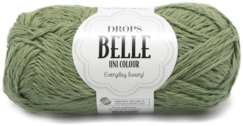 Drops Belle Uni Colour 10 Moss-green