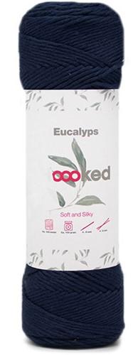 Eucalyps Spring Bells Schal Strickpaket 10 Marino