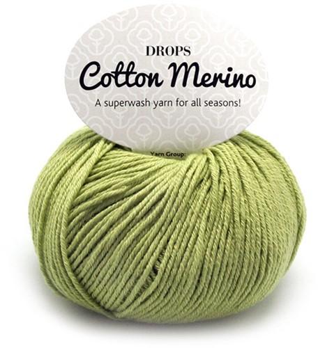 Drops Cotton Merino Uni Colour 10 Pistazie