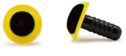 Sicherheitsaugen Gelb 10mm 2 Stück
