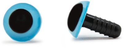 Sicherheitsaugen Blau 10mm 2 Stück