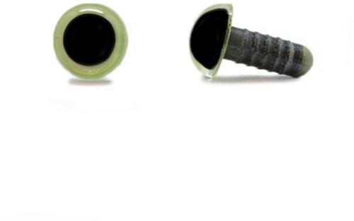 Sicherheitsaugen Olivgrün 10mm pro Paar