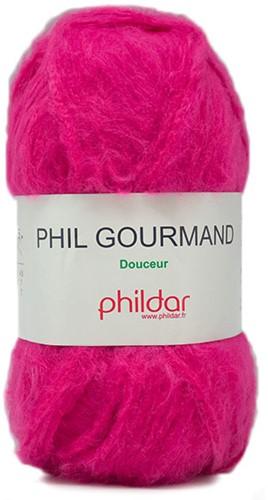 Phildar Phil Gourmand 1144 Fuchsia