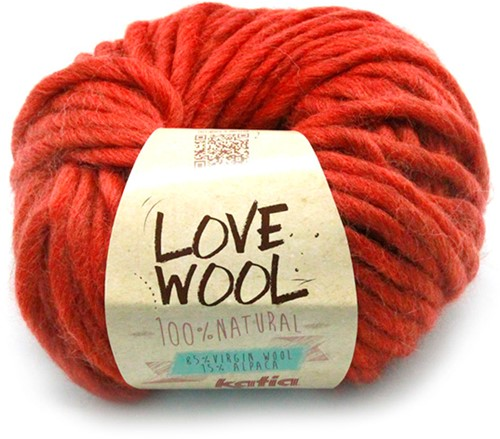 Katia Love Wool 114 Medium orange