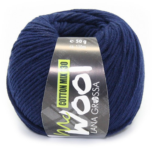 Lana Grossa Cotton Mix 130 117 Night Blue