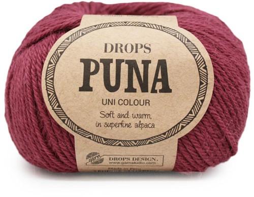Drops Puna Uni Colour 11 Pflaume