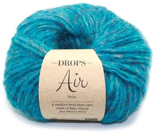 Drops Air Mix 11 Peacock-blue