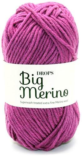 Drops Big Merino Mix 11 Pflaume