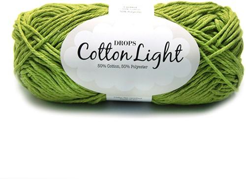 Drops Cotton Light Uni Colour 11 Green