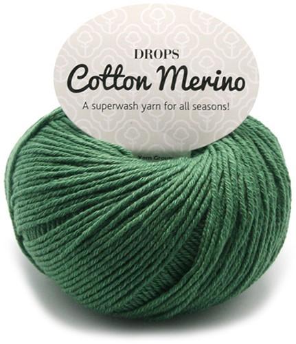 Drops Cotton Merino Uni Colour 11 Waldgrün