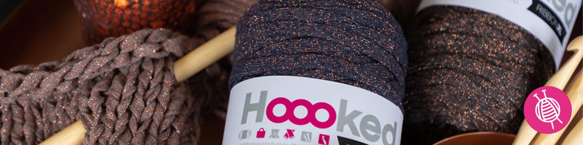 Neu: Textilgarn Hoooked RibbonXL mit gratis Anleitung