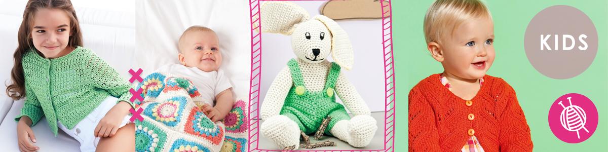 Top 5 Strick- und Häkelpakete für Kinder und Babys