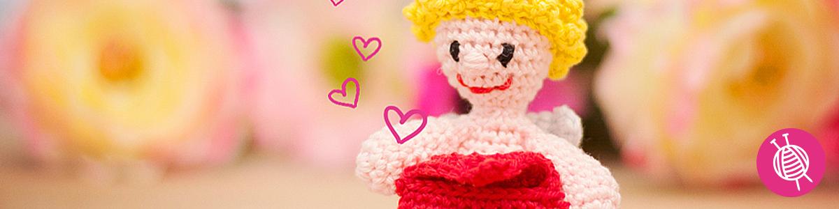 Valentinstag Bastelideen - Häkeln und stricken