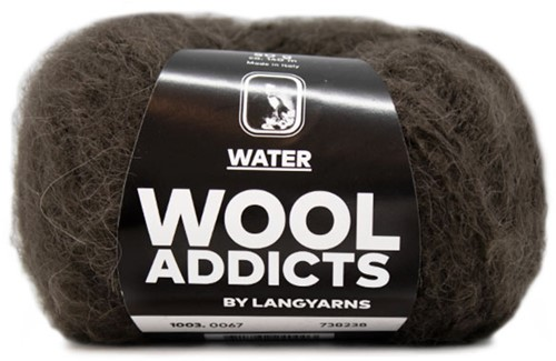 Wooladdicts To-Ease-Sorrow Pullover Strickpaket 10 L Dark Brown