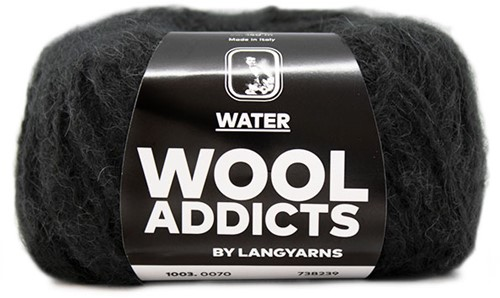 Wooladdicts To-Ease-Sorrow Pullover Strickpaket 11 L Anthracite