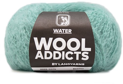 Wooladdicts To-Ease-Sorrow Pullover Strickpaket 12 XL Atlantic