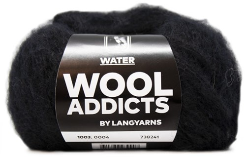 Wooladdicts To-Ease-Sorrow Pullover Strickpaket 2 M Black