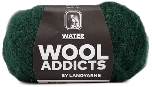 Wooladdicts To-Ease-Sorrow Pullover Strickpaket 6 L Moss