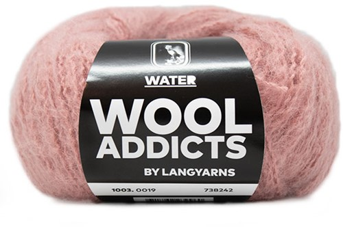 Wooladdicts To-Ease-Sorrow Pullover Strickpaket 7 M Pink