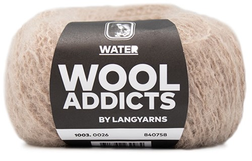 Wooladdicts To-Ease-Sorrow Pullover Strickpaket 8 S Beige