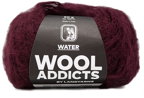 Wooladdicts To-Ease-Sorrow Pullover Strickpaket 9 L Sunset