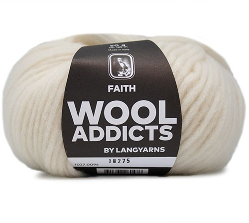 Wooladdicts Wild Wandress Pullover Strickpaket 10 S Off-White