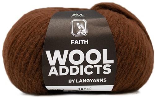 Wooladdicts Wild Wandress Pullover Strickpaket 4 L Amber Mélange