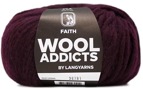 Wooladdicts Wild Wandress Pullover Strickpaket 7 XL Sunset