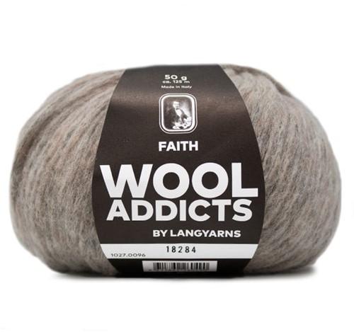 Wooladdicts Unique Mosaic Schal Häkelpaket 11 Sand